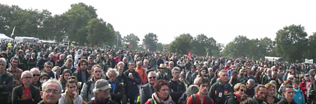 manifestation nationale du 8 octobre - Notre-Dame-des-Landes